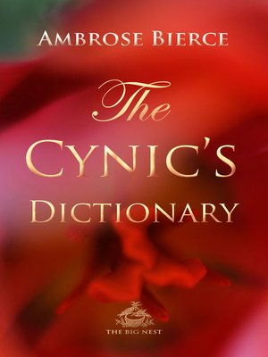 cover image of The Cynic's Dictionary